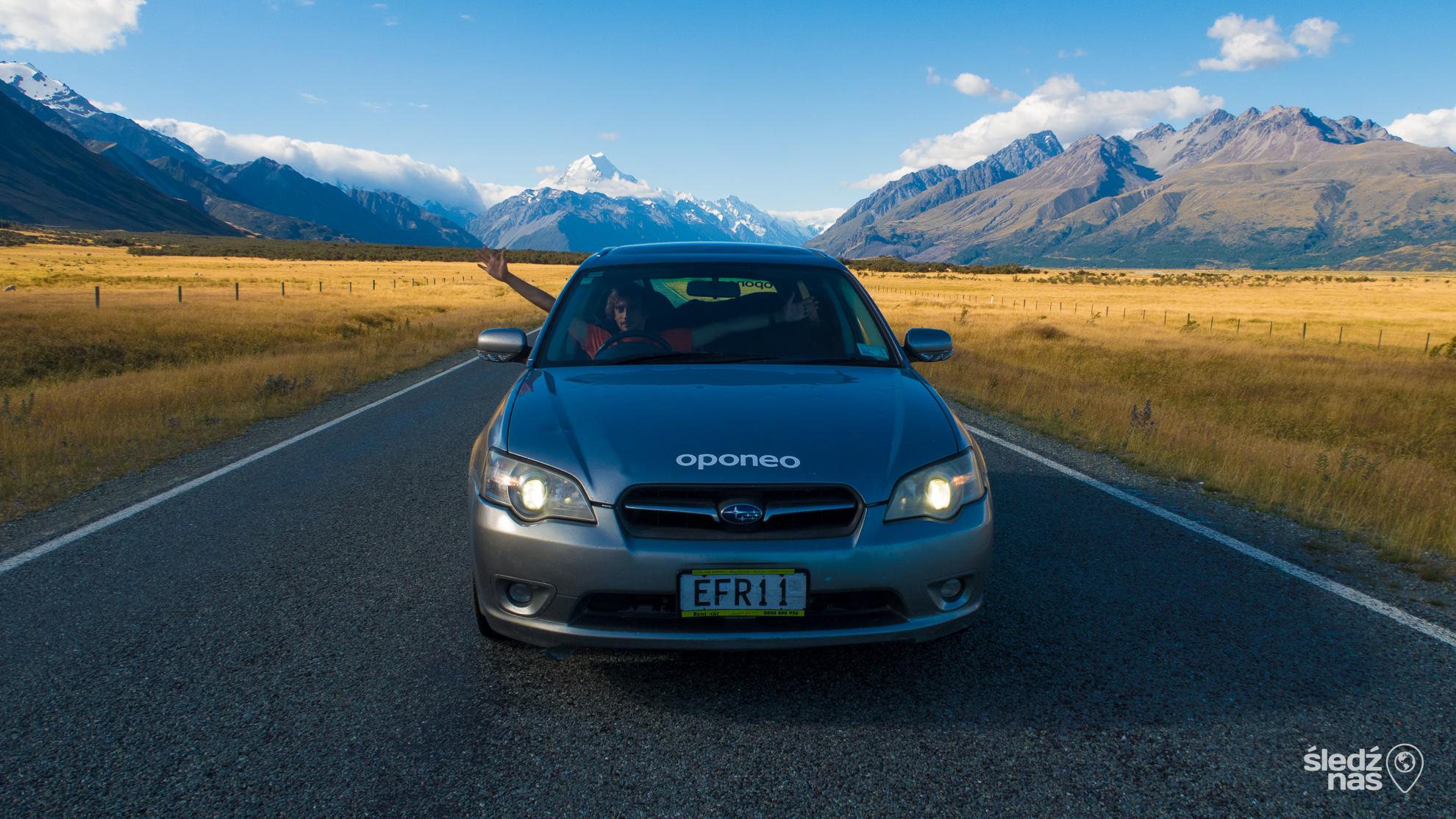 roadtrip w Nowej Zelandii