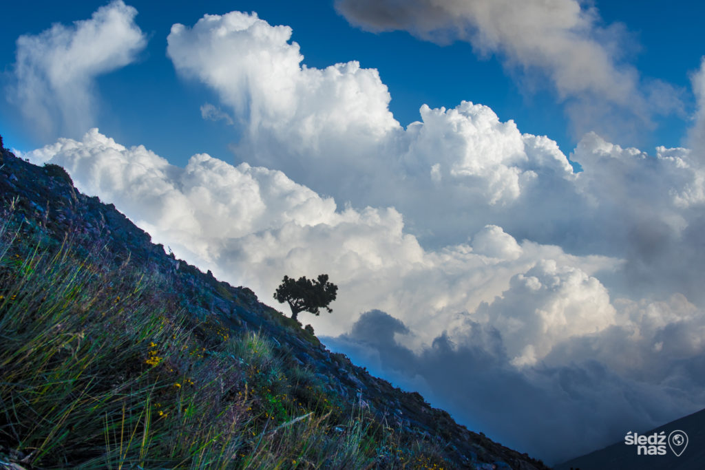 Trekking na Acatenango w Gwatemali